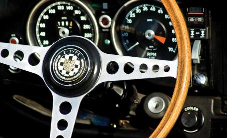Steering Wheel - Conceptual Image for Business performance improvement