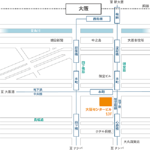 Protiviti Osaka office map