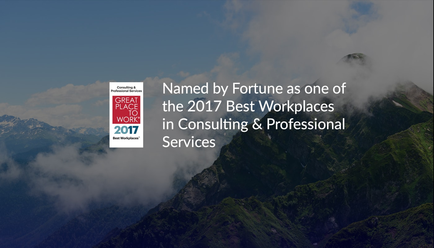 Protiviti Fortune Accolade Homepage