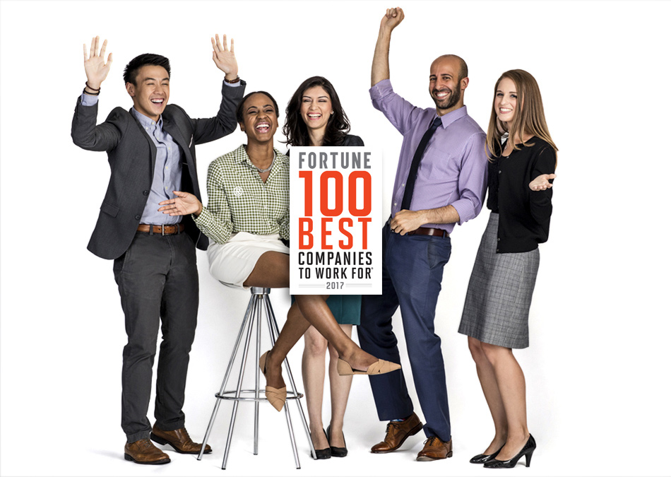 "Protiviti Named to the 2017 Fortune ""100 Best Companies to Work For®"" List!"
