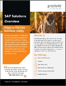 SAP Overview Cover