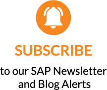 SAP Insights Newsletter Subscription Option