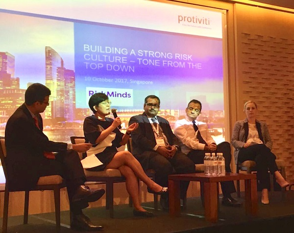 Risk Minds Asia 2017 panel discussion