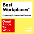 Named one of the 'Best Workplace for Parents' by Great Place to Work