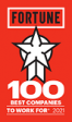 Fortune 100 Best Firms 2021