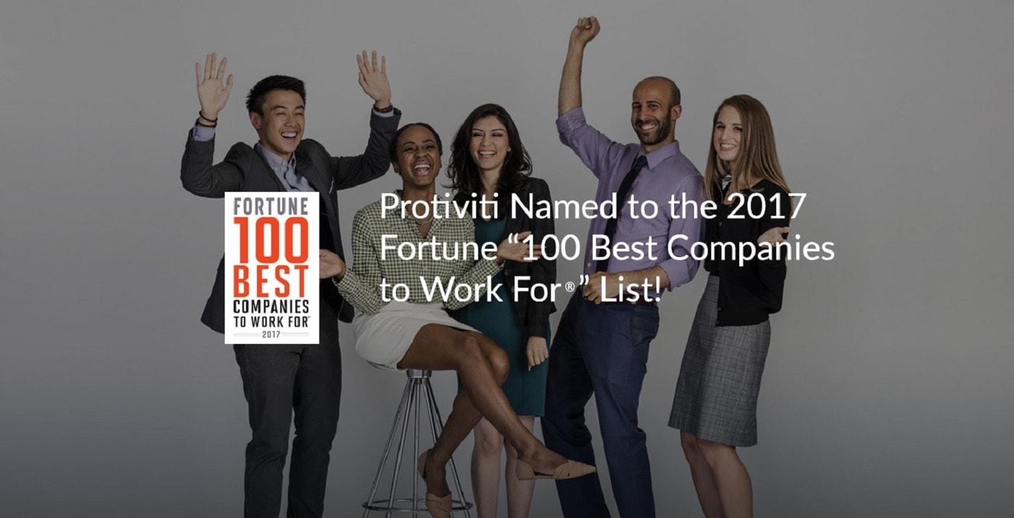 Fortune 100 Best Places to Work for 2017