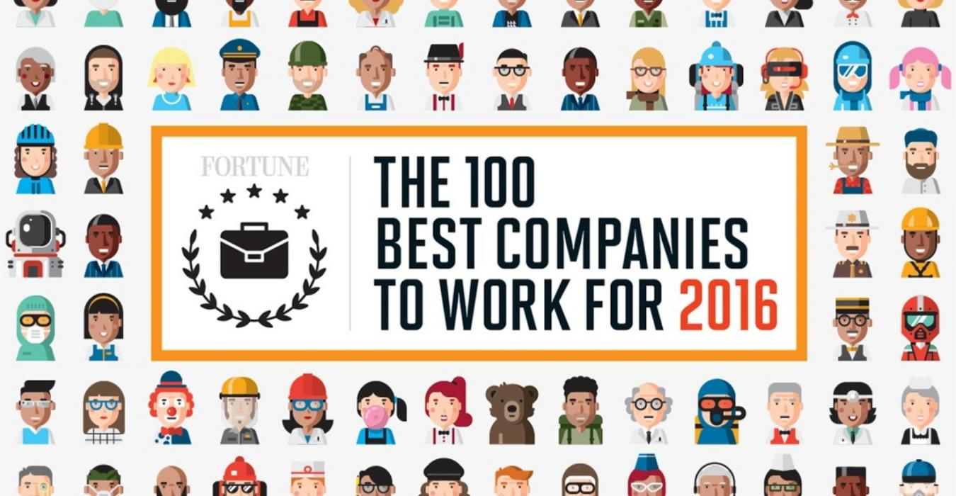 Fortune 100 Best Companies to Work For sample