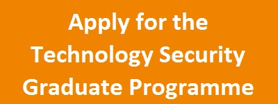 Apply for the Technology Security Graduate Programme