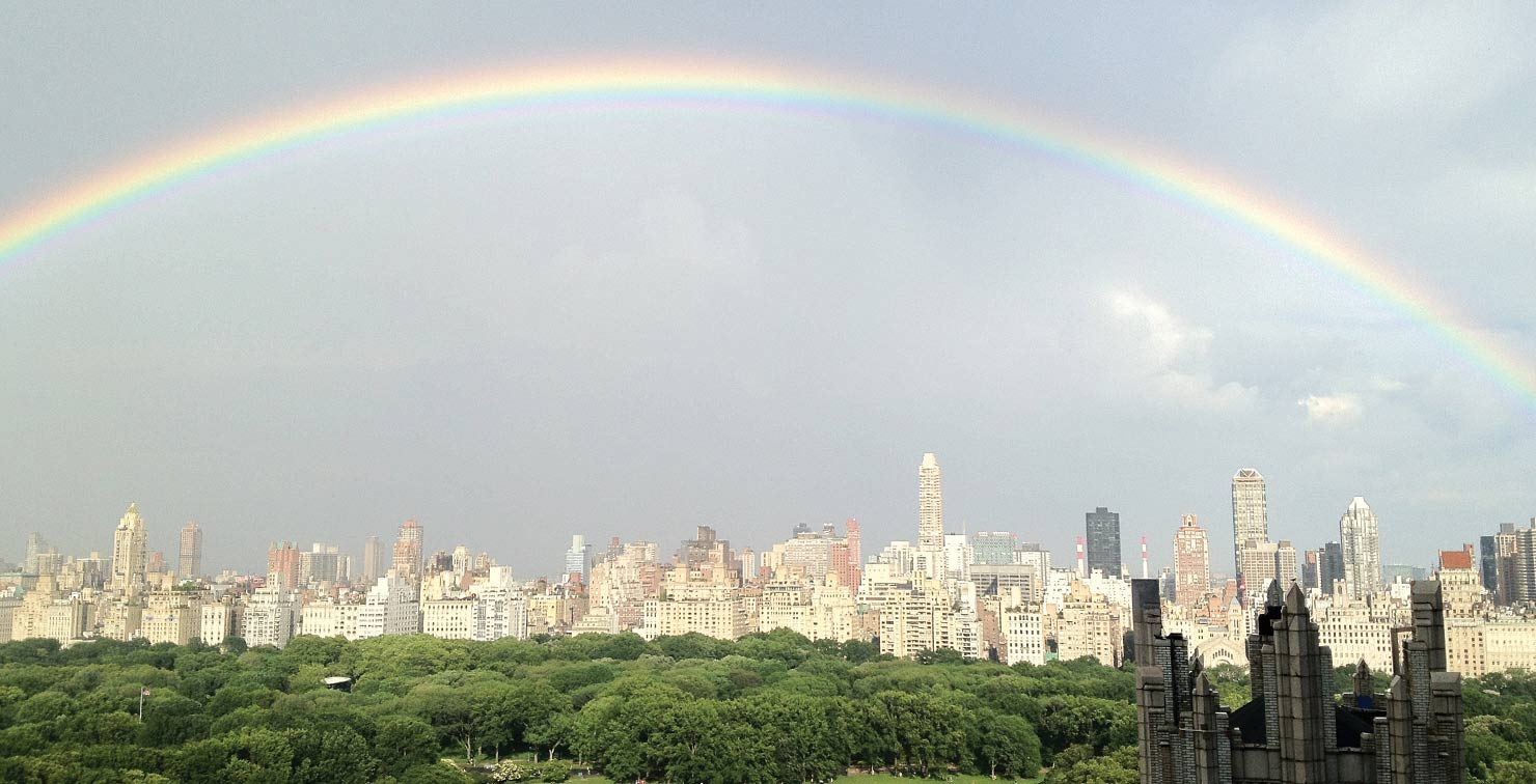 Rainbow Central Park by Shirley O.
