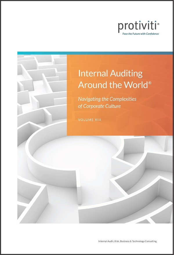 Internal Auditing Around the World Vol 13 Cover