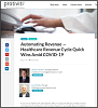 Automating Revenue — Healthcare Revenue Cycle Quick Wins Amid COVID-19