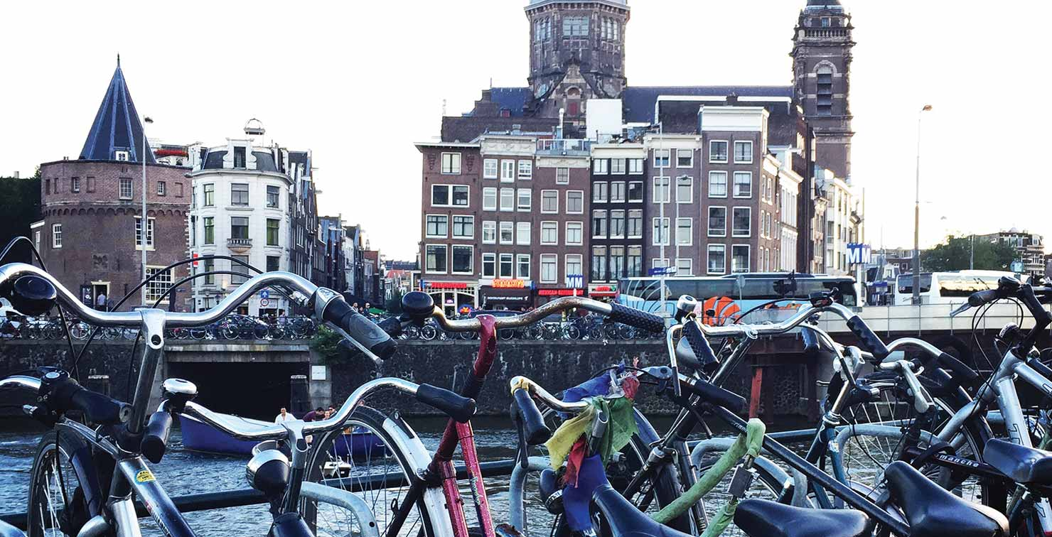 Bikes of Amsterdam by Emily Hu