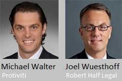 Read NACD blog featuring Protiviti's Michael Walter and Joel Wuesthoff from Robert Half Legal