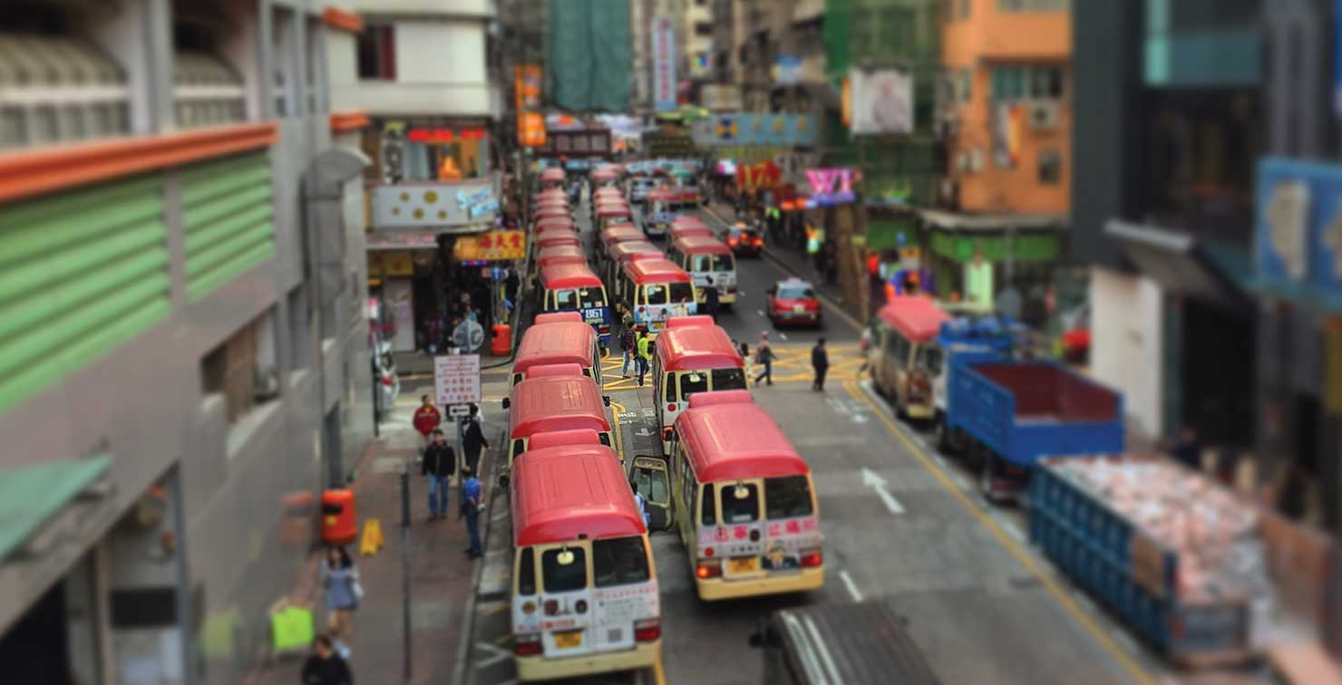 Hong Kong Light Bus by Brandon Wardlaw