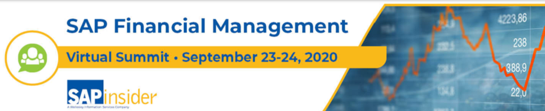 SAP Financial Management Virtual Summit  On-Demand until October 23